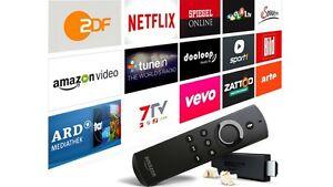Amazon Fire TV Stick mit Alexa, Kodi17, Jailbreak, Sky Go , Neu, Ovp, Garantie - Deutschland - Amazon Fire TV Stick mit Alexa, Kodi17, Jailbreak, Sky Go , Neu, Ovp, Garantie - Deutschland