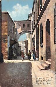 br104960 arch of ecce homo jerusalem israel