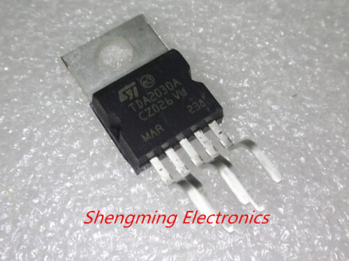 50PCS TDA2030AV TDA2030A TDA2030 TO-220-5 IC