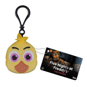 Funko-Five-Nights-At-Freddy-039-s-Chica-Plush-Keychain-Figure-NEW-Toys-Keyring