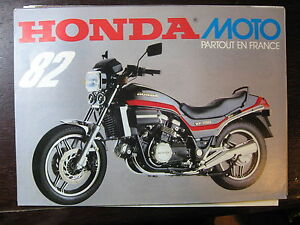 moto honda gamme 1982 catalogue prospectus brochure ebay. Black Bedroom Furniture Sets. Home Design Ideas