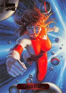 GUARDIAN-1994-Marvel-Masterpieces-Fleer-BASE-Trading-Card-47
