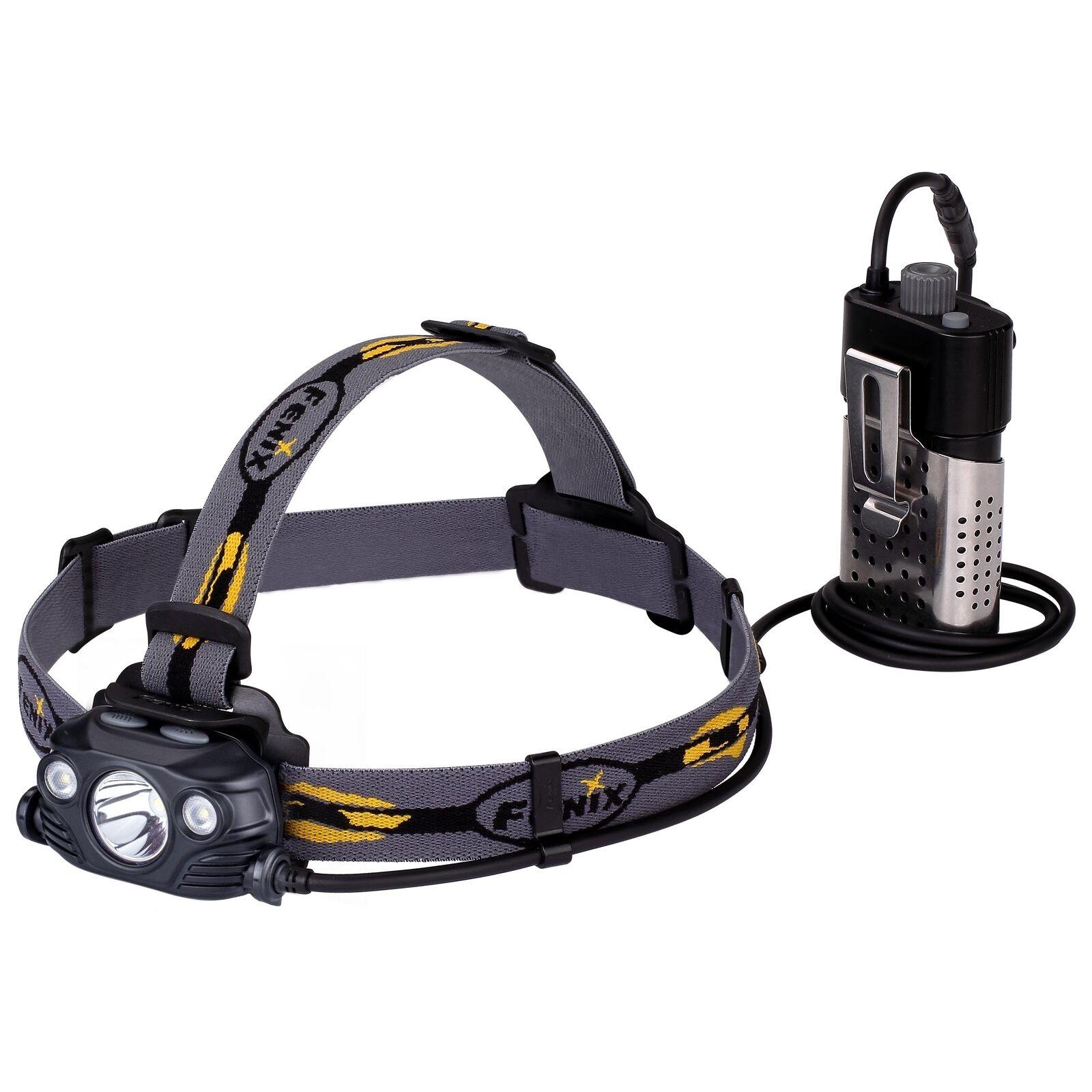 Fenix HP30R LED Stirnlampe 1750 Lumen mit 2x 2600mAh 18650 Akkus Schwarz  | Clever und praktisch
