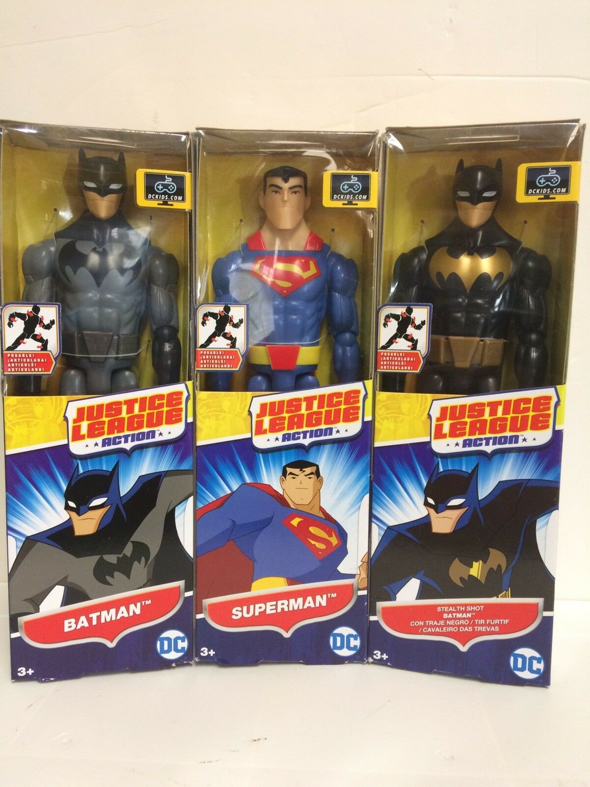 Dc Justice League Action Figure Bundle New