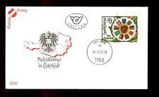 Austria 1990 Anniv Of First Provinces Conf. FDC #C2976