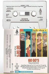GO GO'S cassette K7 tape TALK SHOW