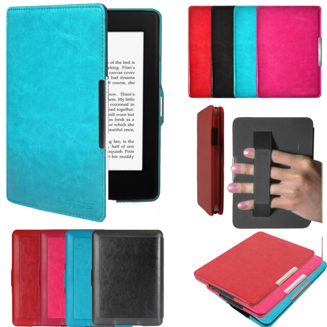 timeless design 60fbc 907d0 Ultra Slim Magnetic Leather Smart Case Cover for Amazon Kindle Paperwhite 5  WiFi