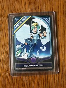 Details about Brawlhalla Metadev Brynn SKIN CARD! VERY RARE! CODE + CARD
