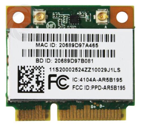 AR9002WB Wifi + AR3011 BT3.0 Atheros AR5B195 Wireless Bluetooth Card