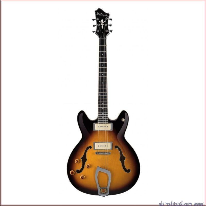 HAGSTROM VIKING P Lefthand VIKPL18, E-Gitarre, Tobacco Sunburst