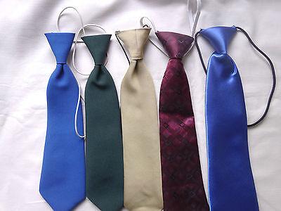 Ragazzi Cravatte In Poliestere Nuovo-mostra Il Titolo Originale