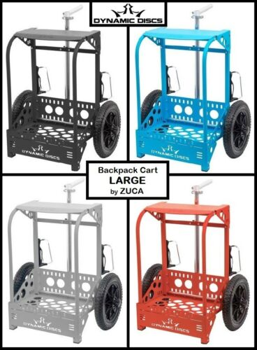 FREE SHIP!!! Dynamic Discs Backpack Cart - LG (Large) - by ZUCA - 4 Colors