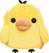 San-x Kiiroitori (Yellow Chick) Soft Plush type Coin Case (CK45601)