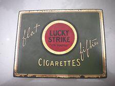 Vintage  Lucky Strike Cigarette Box
