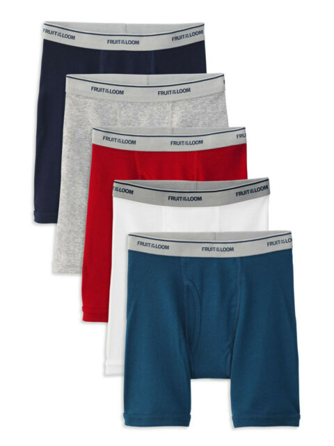 Tagless Extra Large 18-20  NEW SEALED! Hanes Boys Boxers 5 Pack
