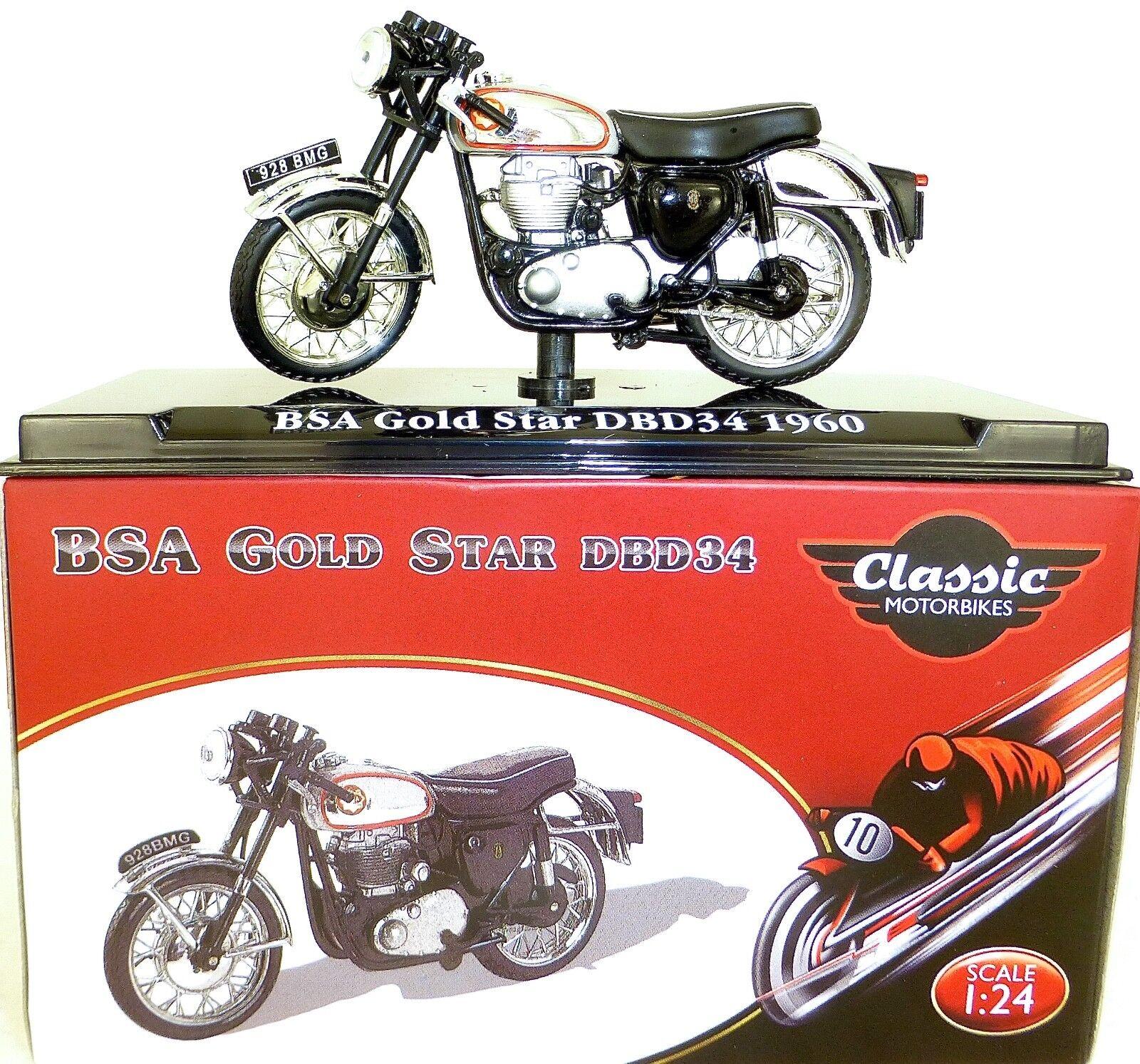 primera vez respuesta BSA oro Estrella Estrella Estrella DBD34 1960 Moto Classic atlas 4658104 Nuevo 1 24 Emb.orig HC4 Μ  precios ultra bajos