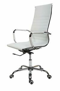 Astounding Details About Cosmoliving High Curved Office Desk Chair Swivel Adjustable Chair Faux White Machost Co Dining Chair Design Ideas Machostcouk