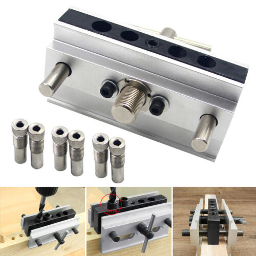 Self Centering Dowelling Jig Drilling Kit for Working Joinery Punch Locator