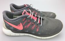 on sale 37d8d 1023a item 2 Nike Free 5.0 Running Shoes Women s Sz 8.5 US Gray Pink White  Sneaker 642199-200 -Nike Free 5.0 Running Shoes Women s Sz 8.5 US Gray Pink  White ...