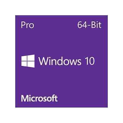Microsoft Windows 10 Pro - 64-Bit DVD (OEM)