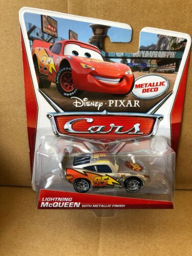 DISNEY CARS DIECAST Combined Postage Lightning McQueen With Metallic Finish