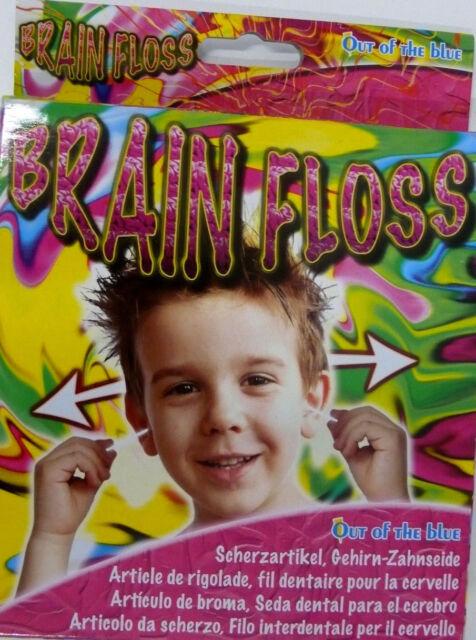 Scherzartikel, Gehirn Zahnseide, Party Gag, Brain-Floss, Zaubertrick