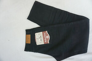 MARLBORO-Rockies-103-Herren-Jeans-regular-cord-robust-Hose-W34-L36-schwarz-P2