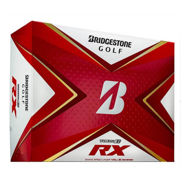 Bridgestone Unisex 2020 Bridgestone 2020 Tour B RX Golf Balls - White - 1 Dozen