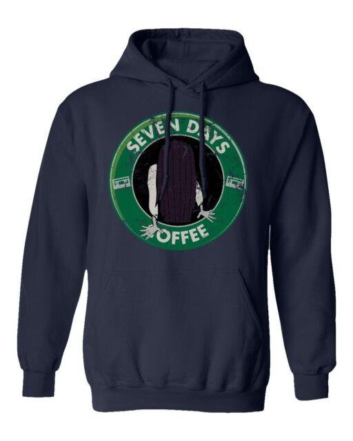 The Ring Starbucks T-Shirt Unisex Cotton Funny Sizes 7 seven days Halloween New