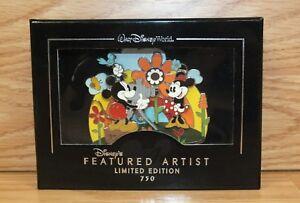 Disney Paola Gutierrez Featured Artiste Mickey & Minnie Parfait Pose Géant