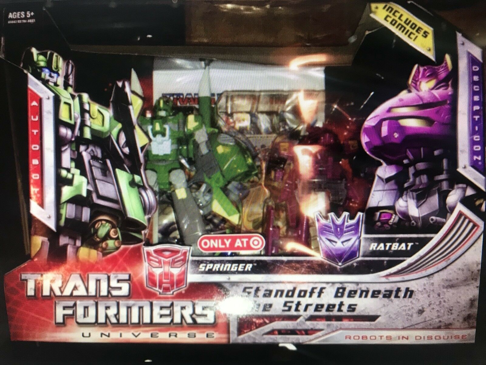 Transformers Universe Springer v Ratbat War Within Series