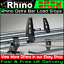 Citroen-Dispatch-Roof-Rack-Bars-Van-Rhino-Delta-Bar-Load-Stops-2-Pairs-1995-2007 thumbnail 1