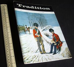 "Vintage 1970s ""Tradition"" #56 Superb Model Soldier & Military History Magazine"