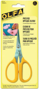 Olfa-5-034-Precision-Smooth-Edge-Scissors-Sharp-Thin-Stainless-Steel-Blade-Applique
