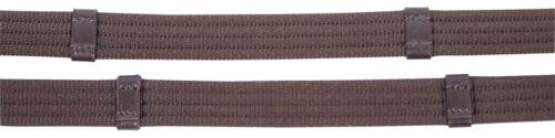 Harry's Horse Gurtzügel Lederstege Lederenden Zügel Nickelbeschläge 2 Farben Reit- & Fahrsport Zügel
