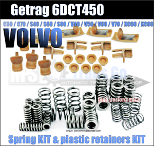 Spring-and-plastic-retainers-KIT-6DCT450-DCT450-Wet-clutch-Powershift