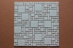 Crystal-glass-mosaic-tiles-Kitchen-splash-back-Bathroom-feature-walls-White