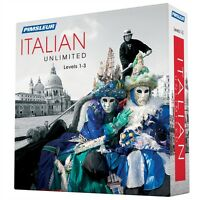 Pimsleur Unlimited Italian Language Level 1 2 3 Course 90 Lessons