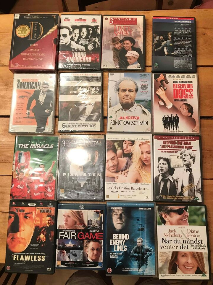 DVD, instruktør Blandet, DVD