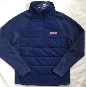 VINEYARD-VINES-Mens-Performance-Sweater-Fleece-Pullover-Jacket-Blue-NWT-S-XL