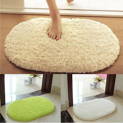 New Soft Memory Foam Shaggy Rug Anti Slip Bath Mat Bedroom Shower Floor Carpet