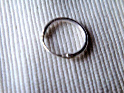 Plata Esterlina Llanura Fina pendientes ESTILO ARO 12mm Sleeper sólo £ 5.50 Nuevo con etiquetas