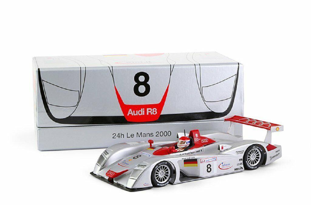 Slot. it CW19 AUDI R8 LMP 1st Le Mans 2000  8 uso en pista Scalextric Slot Coche