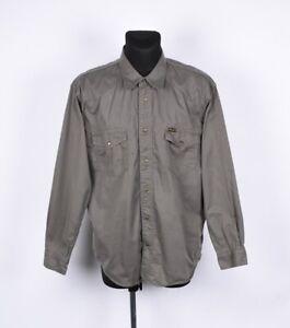 Wrangler authentic western shirt men size xl