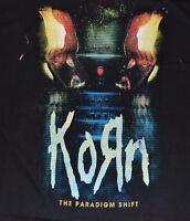 Korn The Paradigm Shift Adult T-shirt Short Sleeve Tee By Bravado