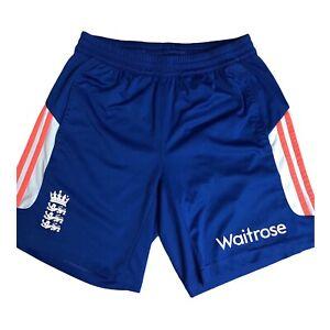 Player Issue: England Cricket Training Shorts Adidas