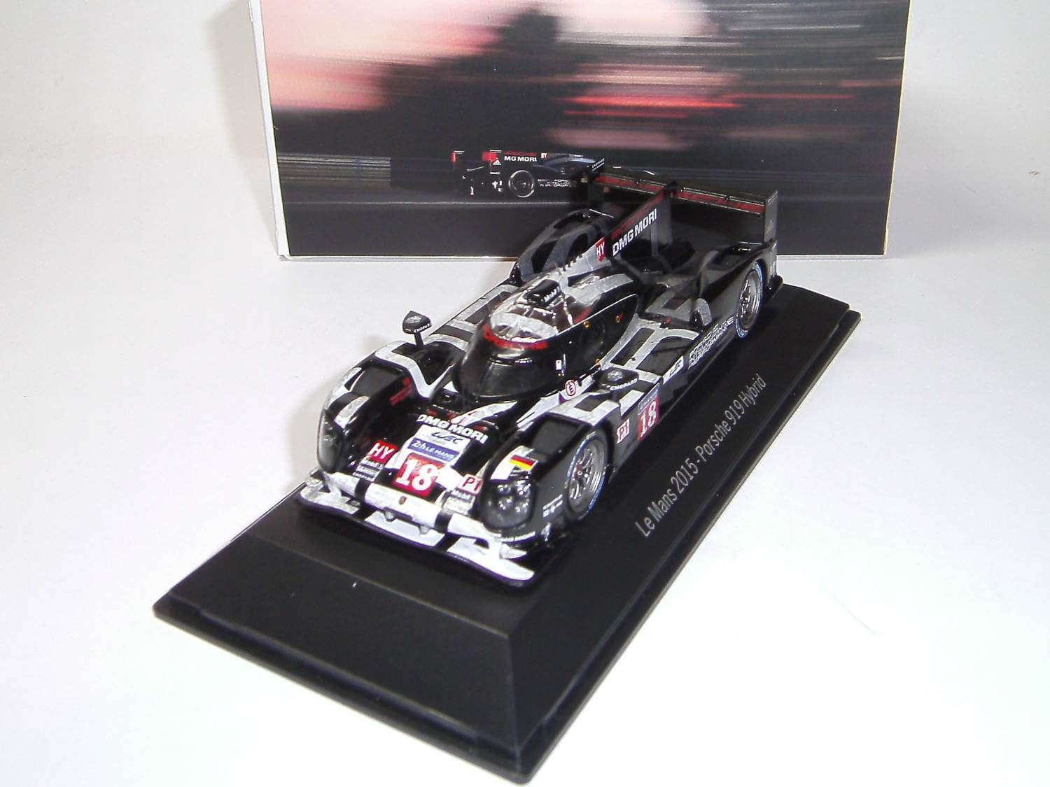 Porsche Hybrid 919  18 le Mans 2015 Dark Finish Finish Finish Version Spark 1 43 MAP02087515 d660a3