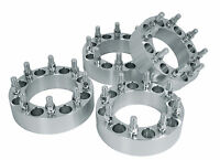 Complete Set 8x6.5 ( 3 Inch Thick ) 9/16 Studs 8 Lug Wheel Spacers Adapters Usa