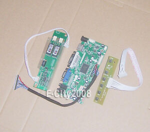 HDMI-DVI-VGA-AUDIO-LCD-Controller-Board-kit-For-18-4-LTN184HT03-LTN184HT01