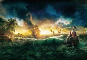 1-408 Kinder Tapete Fototapete Pirat Piraten Fluch der Karibik Wand ...